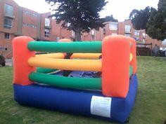 inflable ring de box para #fiestasinfantiles los mejores eventos para niños de 8 a 12 años  llama ya al 3225293479 #chico#colinacampestre #fiestasinfantilesbogota http://www.gereventos.com/inflables-bogota.html