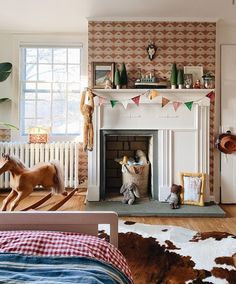 Interior Inspiration, Room Inspiration, Kids Bedroom Boys, Kid Bedrooms, Happy New Year Friends, Toddler Rooms, Kids Rooms, Cozy Cottage, Little Girl Rooms
