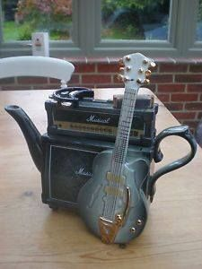 Amp tea pot