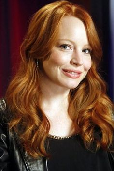 """Lauren Ambrose: most famous for """"Six Feet Under,"""" she's shown here playing Jilly Kitzinger in """"Torchwood: Miracle Day"""" Lauren Ambrose, Rachel Griffiths, Hbo Tv Series, Six Feet Under, Simply Red, Crop Top Bikini, Torchwood, Beautiful Redhead, Height And Weight"""
