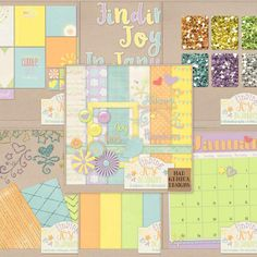 Finding Joy in January Bundle by Mad Genius Designs only available at theStudio