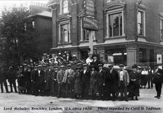 The Lord Wolseley pub, 76 Upper Brockley Road, London, London History, British History, Vintage London, Old London, London Pubs, London City, Old Pictures, Old Photos, Pictures Of England