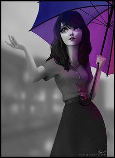 Portrait Illustrations by Ren�e�Chio