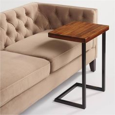 With simple design and sturdy construction, our Alemeda Laptop Table also makes a stunning nightstand or end table - especially in thoroughly modern rooms. The sheesham wood top and metal frame offer beauty and durability in any setting. Steel Furniture, Sofa Furniture, Cheap Furniture, Furniture Makeover, Painted Furniture, Furniture Design, Furniture Stores, Simple Furniture, Furniture Dolly