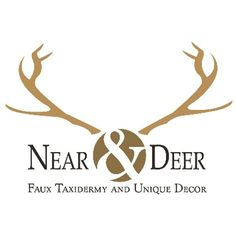 Near and Deer Faux Taxidermy.  Shop our selection of deer, moose, bear, unicorn, skulls, antlers, turtle shells, and more.  All products are hand painted custom to order.  Our current production lead time is 2-4 business days.