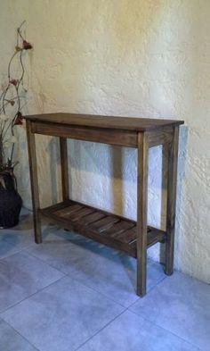 mesa de arrime, madera maciza fabricación propia..oferta!!!