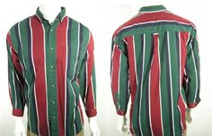 Vertically striped shirts were popular in the 90s