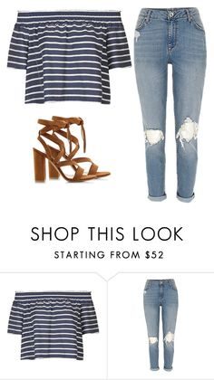 """""""Untitled #252"""" by itgirlcarlota ❤ liked on Polyvore featuring Topshop and Gianvito Rossi"""