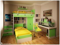 Teenager's Room View 2  #homes