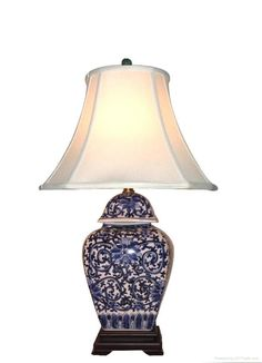 Blue & White Porcelain Lamps - LC021~LC025 - Whole Young (China ...