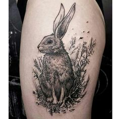 Rabbit and the forest  #tattoos#tattoofreakz#fatumtattoo#tatouage#tatouages#tat#rabbit#bunny#ink#blackworkerssubmission#blackworkers#lineart#forest#black#darkartistssubmission#FORMink#form#line#dots#dotworktattoo