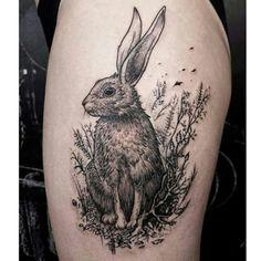 Rabbit and the forest  #tattoos#tattoofreakz#fatumtattoo#tatouage#tatouages#tat#rabbit#bunny#ink#blackworkerssubmission#blackworkers#lineart#forest#black#darkartistssubmission#FORMink#form#line#dots#dotworktattoo