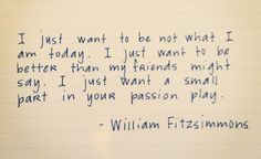 Passion Play-William Fitzsimmons