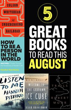 5 Great Books To Read In August