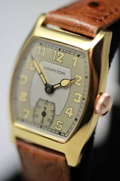 1934 Hamilton Grant Vintage Watch from vintagewatches on Ruby Lane