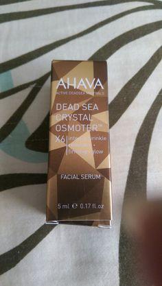 SWAPPED (Monique Guiel) Ahava Dead Sea Crystal Osmoter Facial Serum - BN