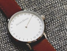 Jacopo Dondi watches are designed to display time in a much more natural way than your everyday wrist watch.