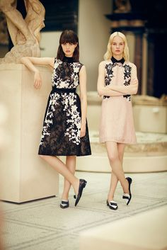 irene hiemstra and marta dyks for erdem resort 2014 | visual optimism; fashion editorials, shows, campaigns & more!