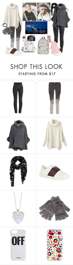 """""""cozy winter adventure in kemah"""" by dovelywoozi ❤ liked on Polyvore featuring Vetements, Pierre Balmain, Yves Saint Laurent, Valentino, Steve Madden, Off-White, Dylan's Candy Bar and NOVICA"""