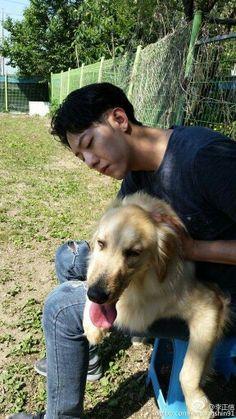 My Shinnie with Simba