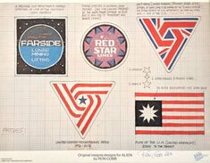 Alien (1979) - Original insignia designs by Ron Cobb