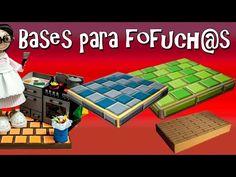 BASES PARA FOFUCHAS - BALDOSAS - GOMA EVA - YouTube
