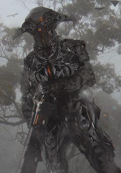 Cyborg by Hunt Ang