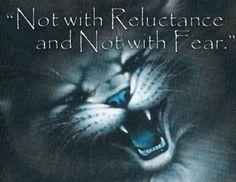 Warrior Cat Quote