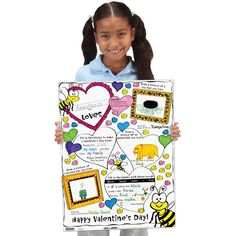 Students need to recall, organize, and write down their thoughts on these full size Ready-To-Decorate™ What I Love Posters