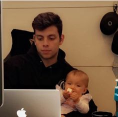 This is so cute. Guys who are playful with babies are the cutest. Anthony Trujillo