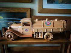 Gas & Oil Truck | Made from Toys and Joys plan. Wood is Sout… | Flickr Wooden Toy Cars, Wood Toys, Tractors, Trucks, Joy, Milk, Wooden Toy Plans, Glee, Truck