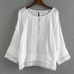 ed449643c1f Blouses & Shirts For Women - Cute Lace White Blouses & Funny Plaid Shirts  Fashion Sale Online