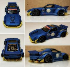 Custom Hot Wheels Cars Mazda Mx3 Xtreme Honda Element