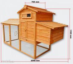 Hühnerstall Hühnerhaus Hasenstall CH A+B - Hühnerstall Kaninchenstall (Artikel CH-A+B)   Hier bieten Sie auf einen wirklich grossartigen Qualitäts-Hüh...