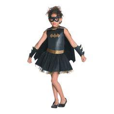 Tutu Batgirl Costume for Kids - Small