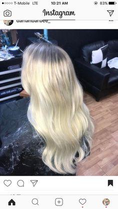 #blonde #hair #balayage #whiteblonde #bleachblonde #longhair #curledhair