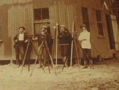 Survey Crew Posing