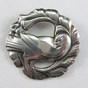 Early Georg Jensen Dove Brooch