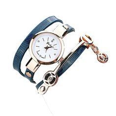 Ularma Damen Armbanduhr Mode Exquisit Armband Analog Quarz Uhr Weißes Zifferblatt blau Band - http://uhr.haus/ularma/ularma-damen-armbanduhr-mode-exquisit-armband-3