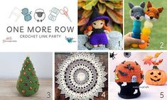 Find your next crochet pattern project at One More Row Link Party!! This spooktacular bunch is ready til the end of the month! Love Crochet, Crochet Hats, The Row, Crochet Patterns, Free Pattern, Party, Link, Tuesday, Finding Yourself