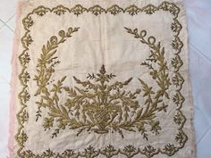 Hand Embroidery and Its Types - Embroidery Patterns Blackwork Embroidery, Learn Embroidery, Gold Embroidery, Hand Embroidery Patterns, Machine Embroidery, Embroidery Dress, Antique Collectors, How To Make Pillows, Chain Stitch