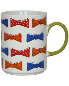 We would love to sip our coffee from this quirky mug! Get it here: http://www.bhg.com/shop/food-network-food-network-bow-ties-coffee-mug-p524578c4e4b06f9c2d31fd52.html
