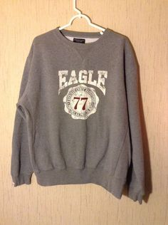 AMERICAN EAGLE OUTFITTERS SIZE XL MENS SWEAT SHIRT #AmericanEagleOutfitters #SweatshirtCrew