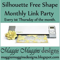 Silhouette Free Shape Blog Party by Maggie Muggins Designs, via Flickr