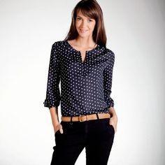 blusas de vestir elegantes manga larga - Buscar con Google