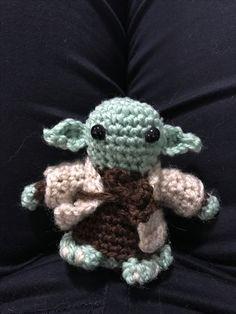 Amigurumi yoda crochet  Star Wars characters