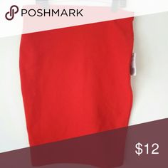 Brand New Sizzling Red Hot fitted Skirt! Brand New Sizzling Red Hot fitted Skirt! Skirts Pencil