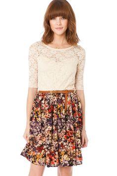 ShopSosie Style : Leslie Dress in Garden / such a cute website!