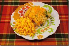 Cheesy Chicken & Broccoli Rice Casserole | Iowa Girl Eats