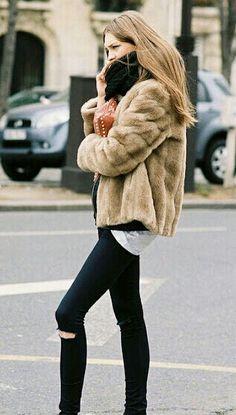 Fur jacket ♡